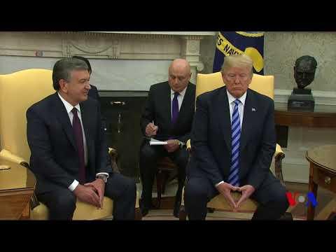 Prezident Mirziyoyev Oq uyda