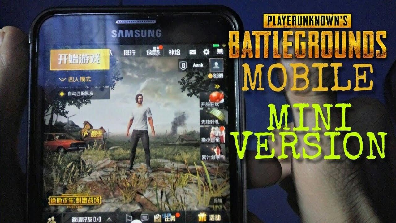 Pubg Hd Version: PUBG Mobile MINI VERSION Android Gameplay HD