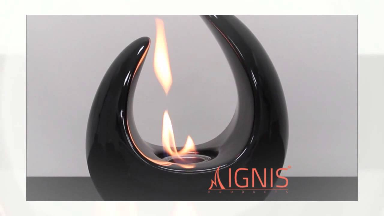 mika tabletop bio ethanol fireplace by ignis cleanflames com