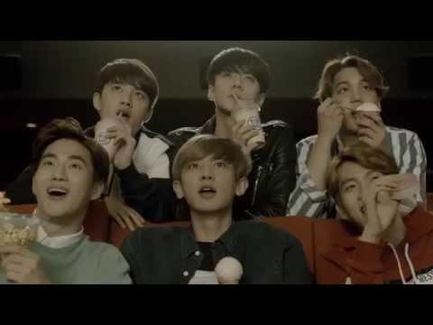 [HD] 150505 EXO - Baskin Robbins 'Popcorn' TVCF Making Film