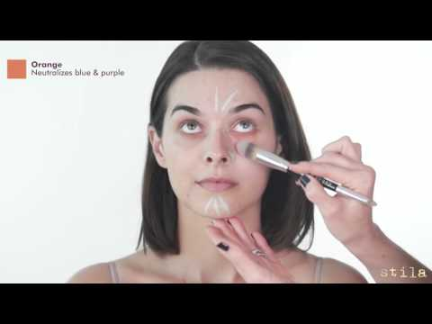 How To Use Stila's Correct & Perfect All-In-One Color Correcting Palette | Sephora