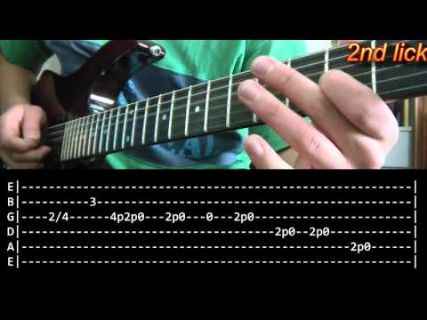 Whole Lotta Love Guitar Solo Lesson - Led Zeppelin (with tabs)