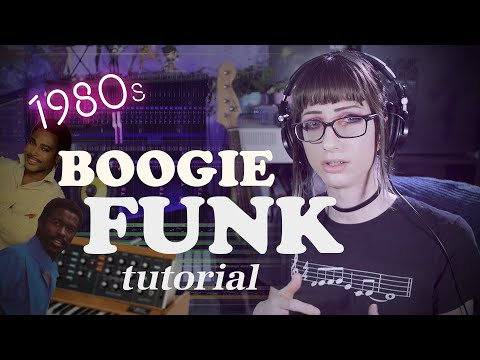 How to write 80's Funk & Boogie music.