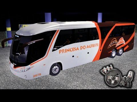Euro Truck Simulator 2 - Auto Viação Princesa do Agreste - PARTE 1 - Madrugada! - Com Logitech G27