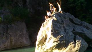 Cliff Diving in Minalungao Park (Nueva Ecija)