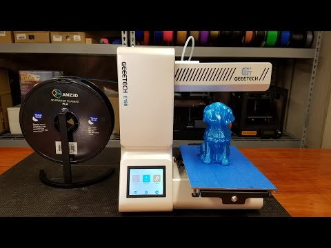 Unboxing and First Use Geeetech E180 3D Printer