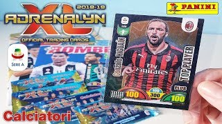 APERTURA BOMBER N°18 | ADRENALYN XL 2018-19 CALCIATORI | HIGUAIN TOP PLAYER PLUS !!!