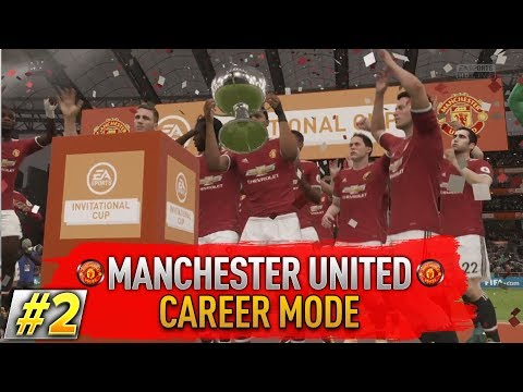 PRVÁ TROFEJ?! #2 MANCHESTER UNITED CAREER MODE - FIFA 18
