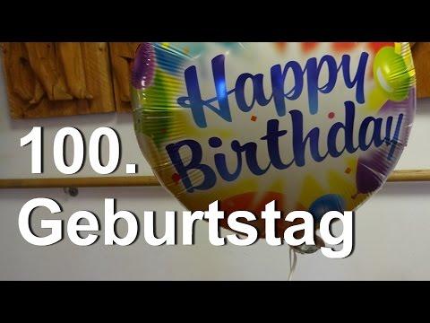Im Alterszentrum Guggerbach in Davos Platz wird der 100. Geburtstag von Hanna Kessler gefeiert