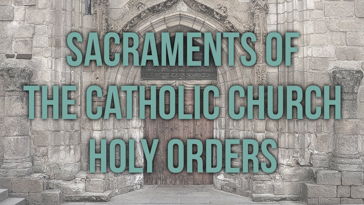 Sacrament of Holy Orders - Franciscan Media