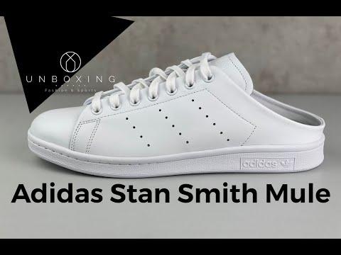 the-weirdest-slip-on-sneaker-in-2020?-|-adidas-stan-smith-mule-|-unboxing-&-on-feet