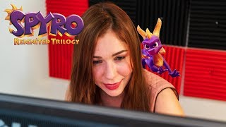 Tracy vs Spyro Year of the Dragon : Reignited Trilogy