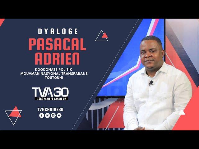 Allwitch Joly ap pale sou kesyon dyalòg nasyonal ak Pascal Adrien (11 Oct 2021 TVA 30)