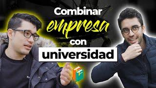 Cover images Compagina la Universidad con YOUTUBE y 2 EMPRESAS | Con Invicthor y Wall Street Wolverine