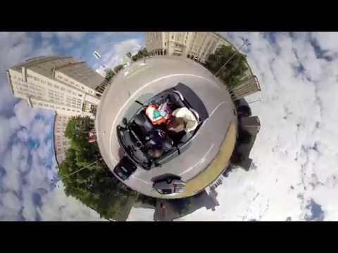 360 degree video / BIG day on a tiny planet