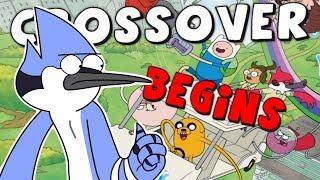 Adventure Time/Regular Show Crossover BEGINS!