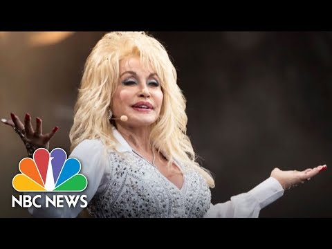 Dolly Parton Honored At Library Of Congress For Donating 100 Millionth Book | NBC News