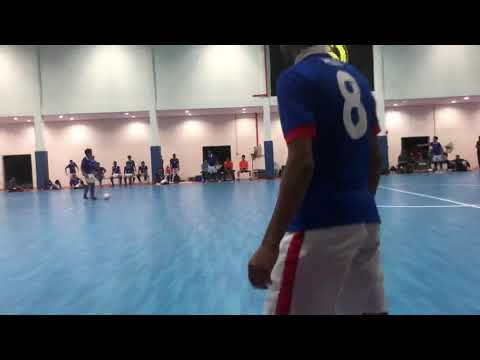 Malaysian national Futsal team vs Cyber FC