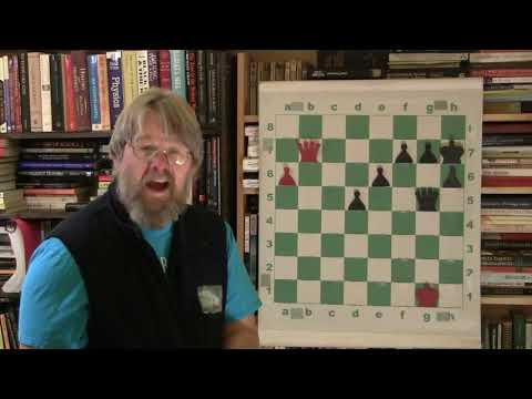 Chess The Unique Queen/Pawn Endgame. Stunning Simple Logic!
