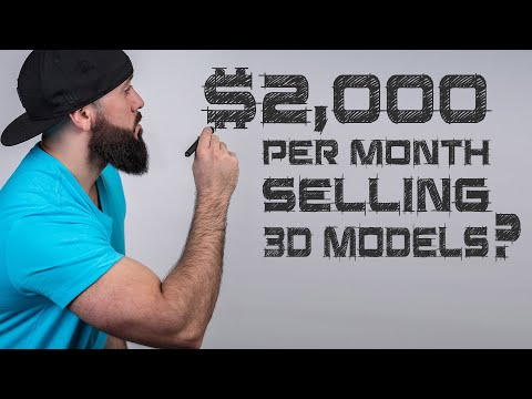 Passive Income for 3D Artists: Making Money Online Selling Your 3d Models