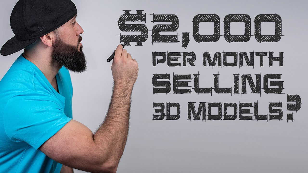 Download Passive Income for 3D Artists: Making Money Online Selling Your 3d Models