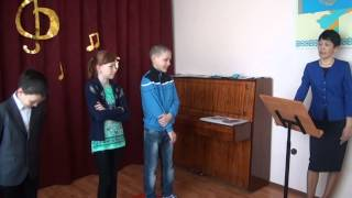 Обобщающий урок музыки в 4 классе по темам первого полугодия. Часть 2