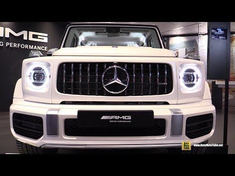 2019 Mercedes AMG G63 - Exterior And Interior Walkaround - 2018 New York Auto Show