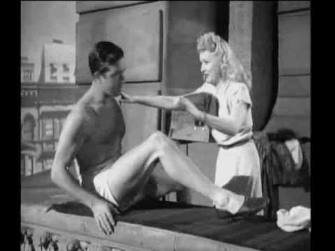 """Betty Grable & John Payne - Footlight Serenade (1942) - """"Still Crazy For You"""""""