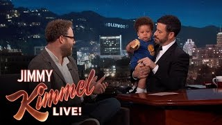 Seth Rogen Meets Baby Steph Curry