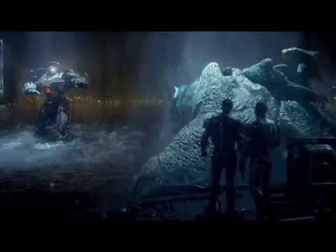 Leatherback Meets Gypsy Danger - Pacific Rim Re-Scored (Music By Patrick Bruss)