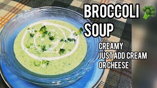 How to make healthy Broccolli Soup Indian version
