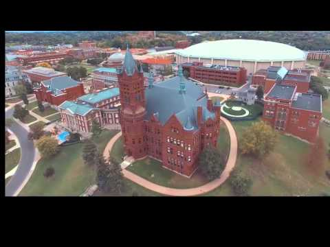 Syracuse University Campus Tour By Drone