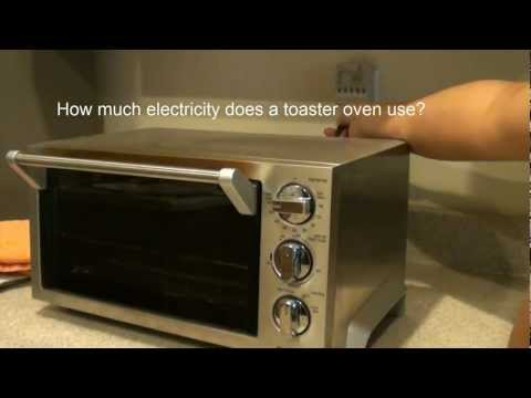 How Much Electricity TOASTER OVER use?