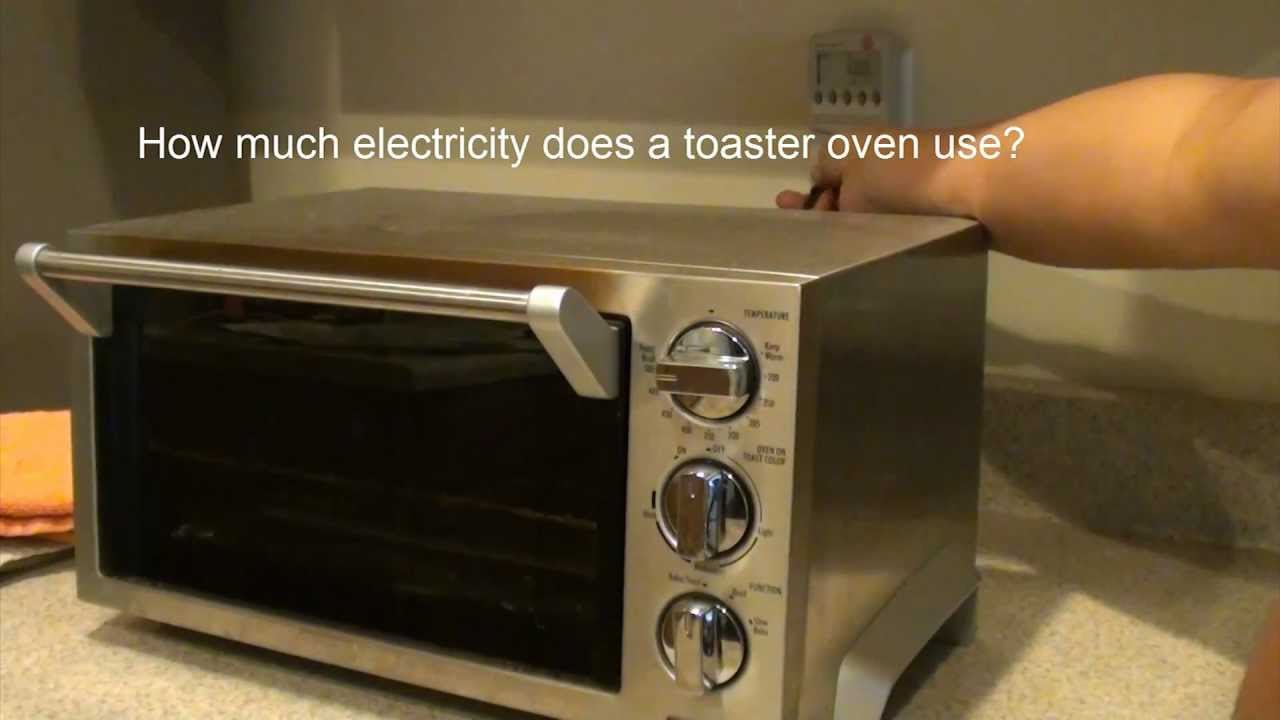 How Much Electricity Toaster Over Use
