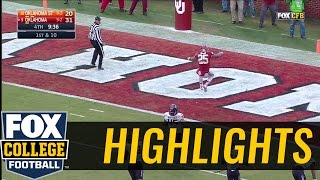 Oklahomas Joe Mixon takes handoff 79 yards to the house | 2016 COLLEGE FOOTBALL HIGHLIGHTS