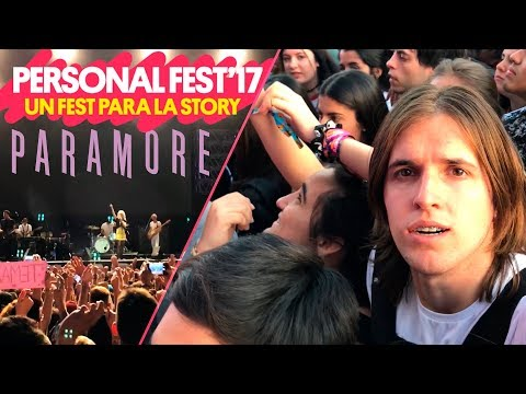 Experiencia PERSONAL FEST 2017 / PARAMORE