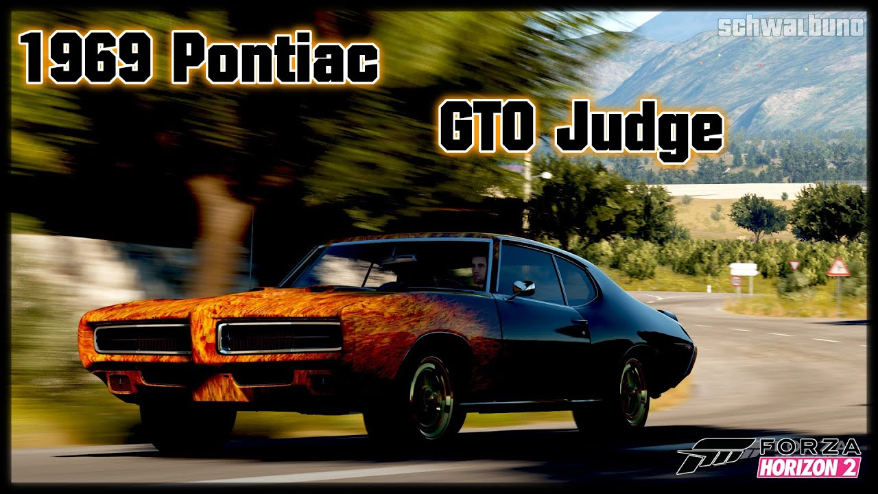 Forza Horizon Pontiac Gto Judge Car Build Youtube