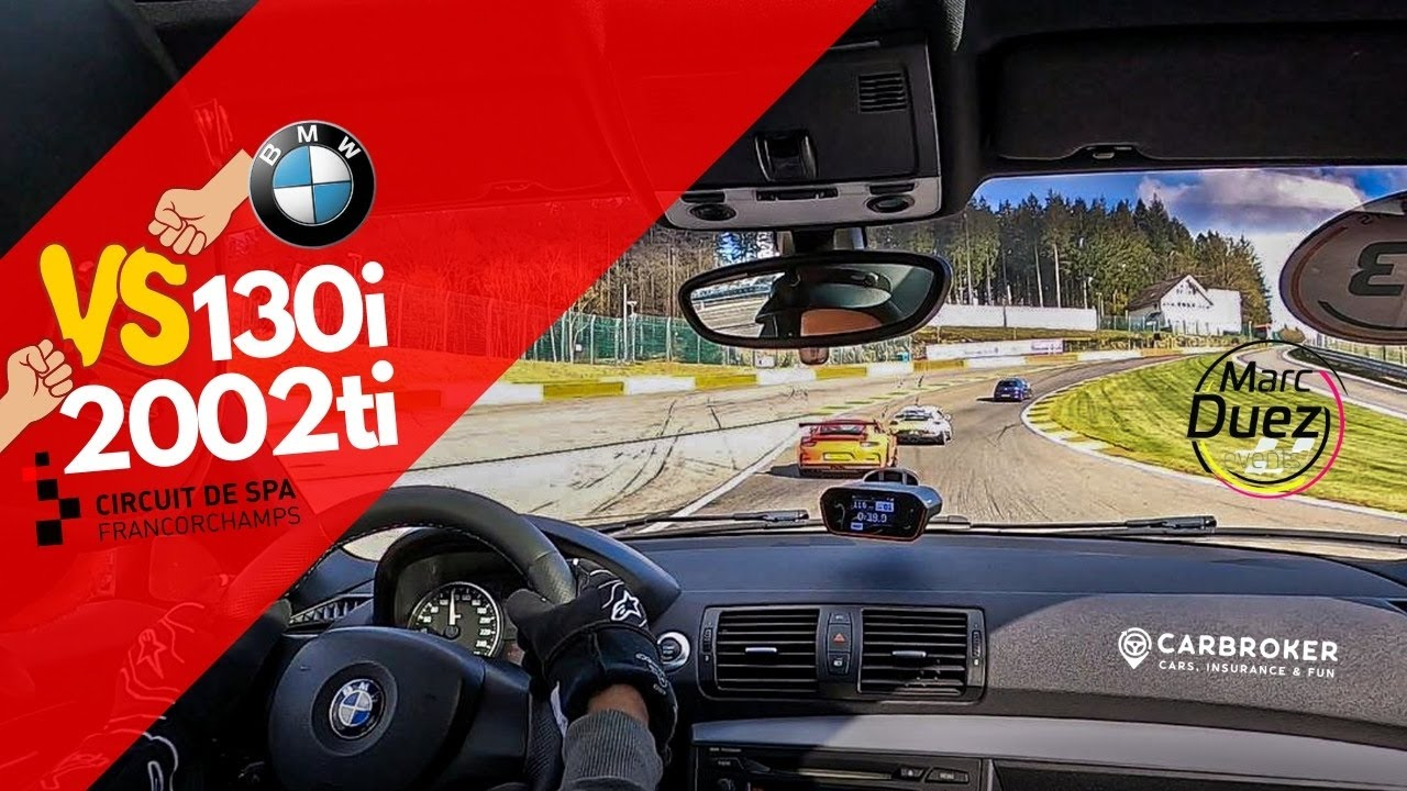 BMW 130i chasing BMW 2002ti & Catheram – Spa Francorchamps 05.05.2021 – Bad tires and pression ⚙