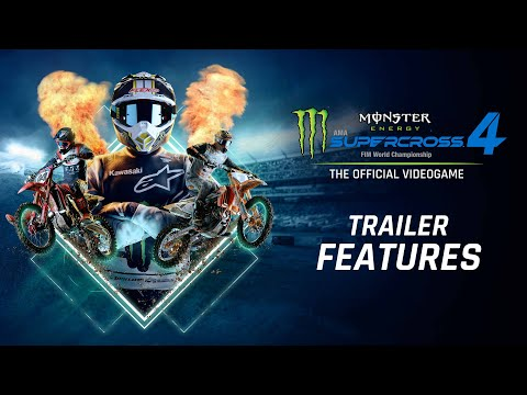 Supercross4 - Trailer Features USK