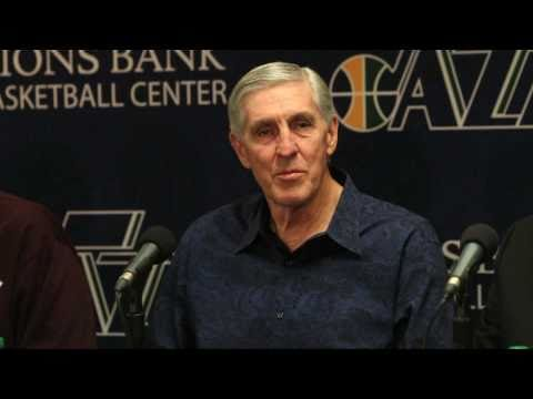 Jerry Sloan resigns as coach of Utah Jazz after 23 seasons.