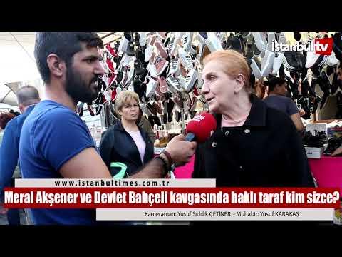 Meral Akşener ve Devlet Bahçeli...