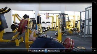 Bench press 160kg fail + silový trénink (fullbody)