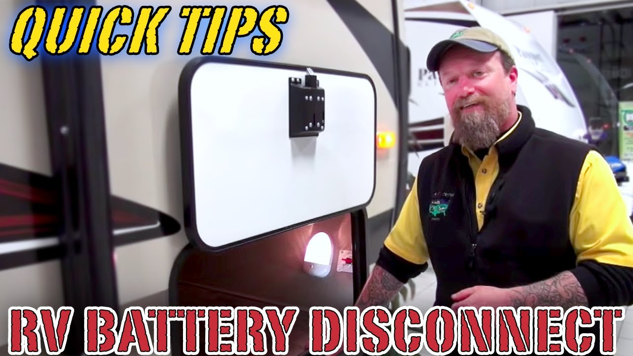 How To Use An Rv Battery Disconnect Switch Petes Quick Tips 2010 Keystone Cougar Wiring Diagram
