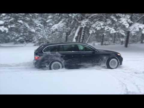 my bmw e61 3.0 xd snow&drift