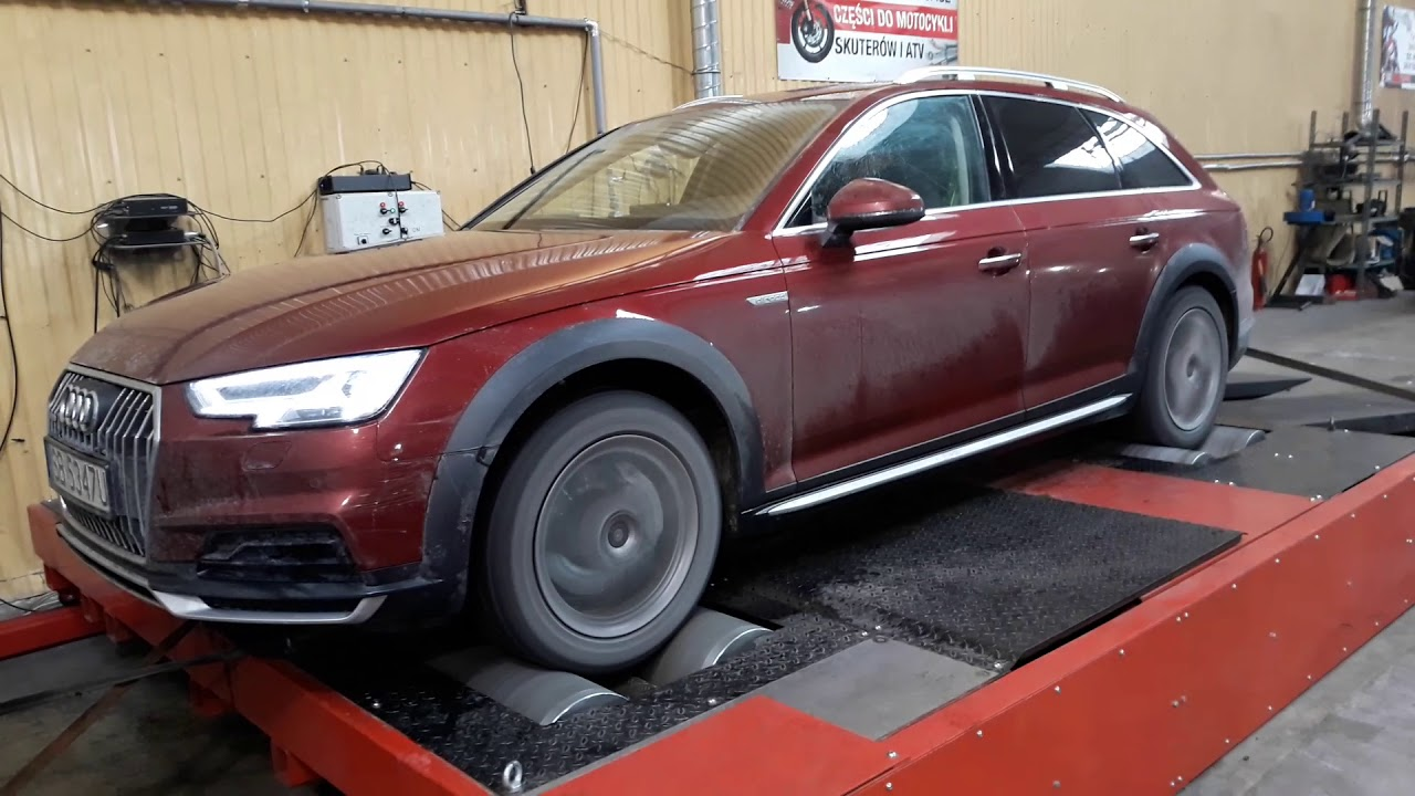 Tuning Na Gwarancji Audi A4 B9 Allroad 20 Tdi 190 Km Pomiar Youtube
