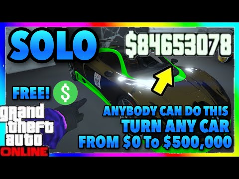 We Have A SOLO Gta 5 Online Money Glitch... (Unlimited Money) GTA ONLINE 1.46 (XBOX/PS4/PC) ANY CAR!