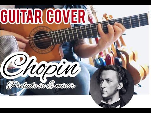Frédéric Chopin - Prelude in E-Minor (op.28 no. 4) - Guitar Cover by Sergio Rivas