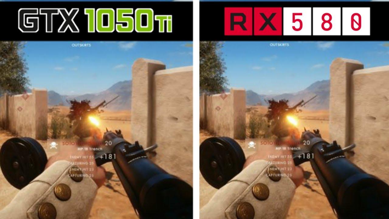 rx 580 vs gtx 1050 ti