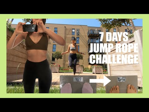 [ENG] 1주일 줄넘기 다이어트 브이로그 (몸무게 공개)_ 식단, 줄넘기 팁, 줄넘기 방법, 건강한 다이어트