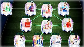 EPIC FULL ANIMATED MASTERS SQUAD BUILDING ! FIFA MOBILE 19